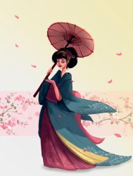 Geisha by VirginiaSoares