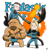 The Fantastic Four by TheFutureFoundation