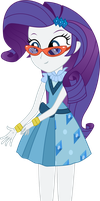 [MLP] Friendship Games Rarity Dress Vector by AnonimowyBrony