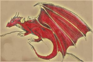 Dragon in color by Ingny