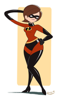 Mrs. Incredible by gamepal