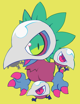 kiwimon by extyrannomon