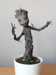 Baby Dancing Groot : full tutorial + pics and vid by DarrenCarnall