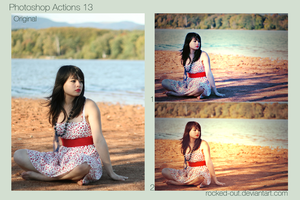 Photoshop Actions 13 by oridzuru