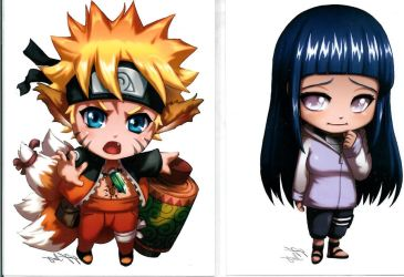 Naruto and Hinata SanJanPan ic by NelNel-Chan