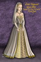 Jane Seymour, Version 2 of Wedding Gown by daretoswim7709