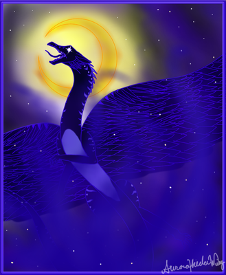 Goddess of Night (Contest Entry) by AuroratheIceWing