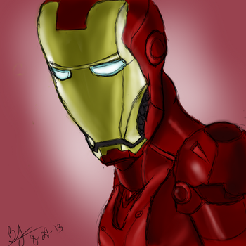 Iron Man by Thinktink606432