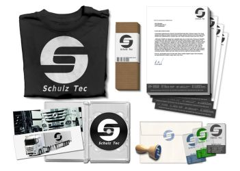 Schulz-Tec final Logo and C.D. by japanass