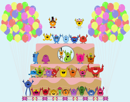 The Mr. Men Show Anniversary by Percyfan94