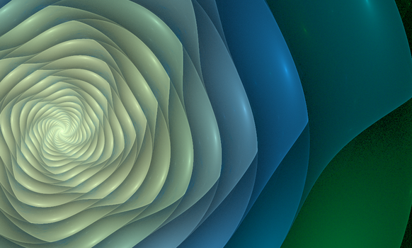 Spiral - Fractal Art by CMWVisualArts