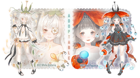 [#03Left]Fyteliya-#02,#03[AUCTION OPEN] by AloNiar