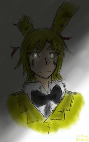 Human!Spring Trap x Shy!Blind!Male!Reader [Pain] by ChaToeto on