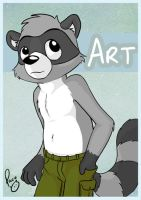 Art badge by pandapaco