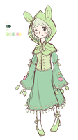 Reuniclus gijinka [CLOSED] by eeluminighty