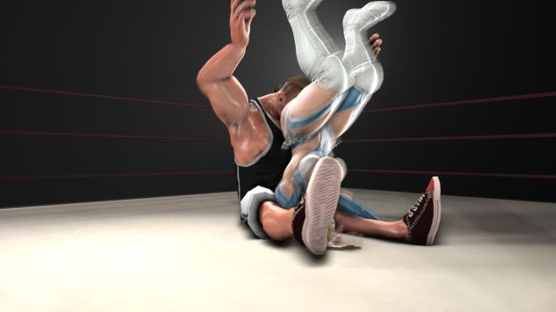 R.mikaVsBULLY climax (still image) by anotherpunisher