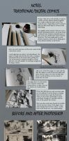 Ink and Photoshop Tutorial--sort of by Junedays