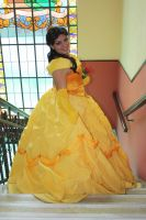 Princess Belle - Disney's Beauty and the Beast by yunekris