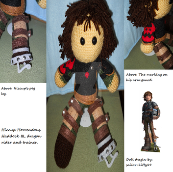 Hiccup Doll by sailor-kitty19