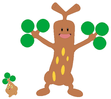 Bonsly and Sudowoodo Base