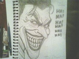 Joker the man who laughs by ThomasDrawsStuff