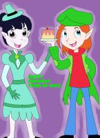 Ravena and Buck for Stars-in-well birthday by AsmodeodeSinan