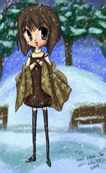 Shiori in Snow by mDuo13