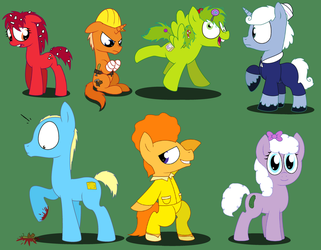 Happy Tree Friends MLPFIM ponies 2 by Pupster0071