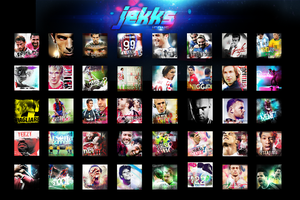 Icon Wall #2 by Jekks