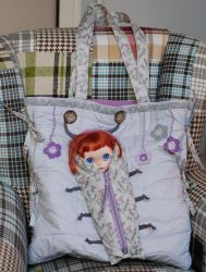 Bag for you and travel bag for Blythe by iasio