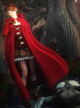 Red Riding Hood by LaMuserie