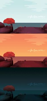 Far From Noise - Scenic Background by JKMeiLinh
