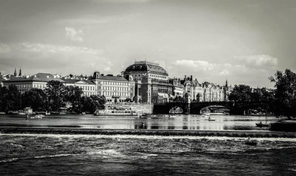 Prague by Ibble
