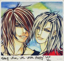 Day when we were happy - Satoshi+Tetsu by KaiLEECH