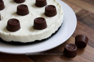 Oreo Rolo Cheesecake by claremanson