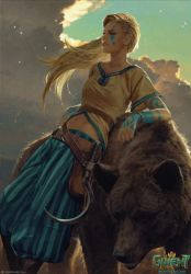Gedyneith Flaminica - Animated Gwent Card by TimTaller