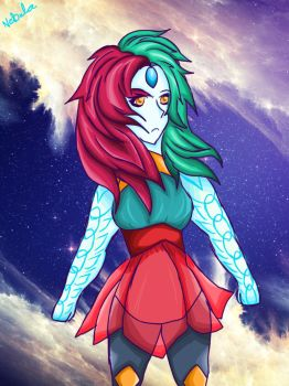 Nebula (Shading/Colour Practice) by Crimson-Muffin