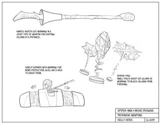 Spider-Man 4_Defensive Weapons by KellyYates