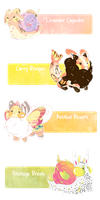 [CLOSED] First Munchlums Guest Artist Batch! by Geelly