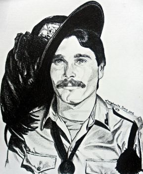 Once upon a time - Soldier portrait by MaggieBebbe