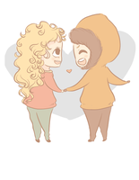 Bebe and Kenny (Request) by asmallshortasian