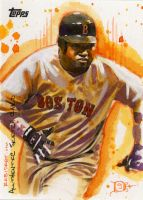 David Ortiz by diazartist