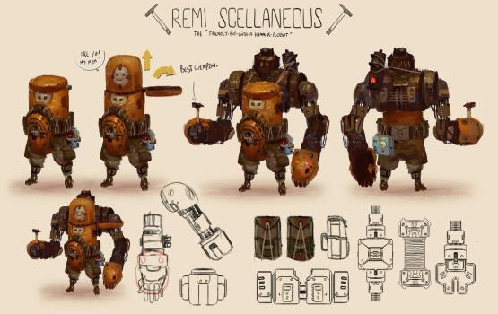 Remi Scellaneous by Zedig
