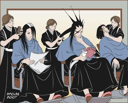 Bleach - Spa Day - Color by telophase