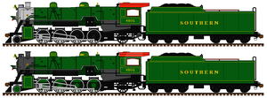 Southern 4501: my AU version by mrbill6ishere