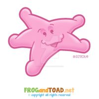 Starfish Etoile de mer FROGandTOAD by FROG-and-TOAD