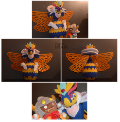Queen Sectonia plushie by Possumato