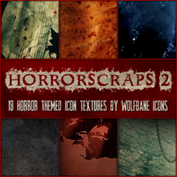 HorrorScraps 2 Icon Textures by jordannamorgan