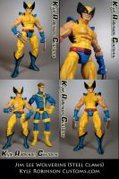 Custom Wolverine Figure by KyleRobinsonCustoms
