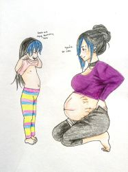 Look at my Tummy by Jashi-Chan
